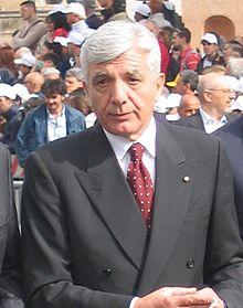Chairman Giovanni De Gunnaro in Italian Finmeccanica S.p.a.