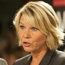 """Næringsmeinister Monica Mæland har levert en fersk  """"Eieriskapsmelding""""( Foto:NrK)"""