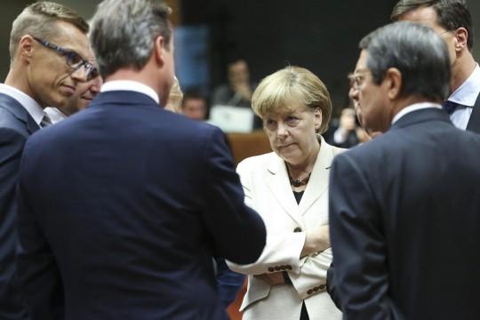 Toppmøte i EU hvor blant annet Ukraina-spørsmålet ble drøftet