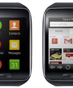 Samsung  Gear S med Opera Mini (Foto: Opera Software)