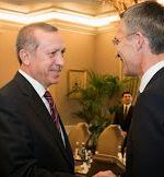 Generalsekretær Jens Stoltenberg i NATO møter statsminister Recep T. Erdogan fra Tyrkia(Foto:NATO)