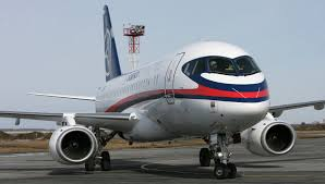 Sukhoi Superjet 100 som  produseres i Russland skal fly i Europa neste år(Foto.Sukhoi.ru)
