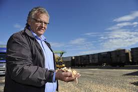 Konstituert konsernsjef Morten Kristiansen i Moelven har gjort en analyse av markedet(Foto: Jernbaneverket)