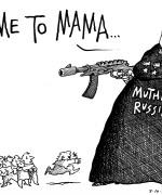 Mor Russland kommer til unnsetning (Ill: Auth/Newsworks)