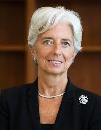Generaldirektør Christine Lagrde i IMF tror på bedre vekst med lavere oljepris(Foto:IMF)