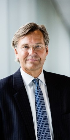 Finansdirektør Trond Ø. Westlie i den globale Mærsk-gruppen er jokeren blant de norske kandidatene til å bli ny sjef for Statoil(Foto. Maersk Group)