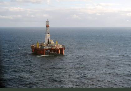 Svenska Petroleum har funnet olje på Krafla North vest for Bergen(Foto: Harald Pettersen, Statoil)