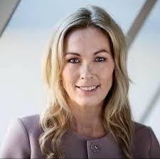 Anita Krohn Traaseth var en av debattantene på mandagens konferanse på Astrup Fearnley i regi av Innovasjon Norge. Tema var SKOG 22(Foto:Twitter)