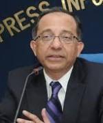 Sjeføkonom Kausik Basu i Verdensbanken sier at USA igjen er verdens økonomiske motor(Foto:World Bank)