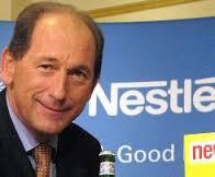 Konsernsjef Paul Bulke i Nestle løfter oljefondets største aksjeinvestering videre frem (foto:Nestle SA)