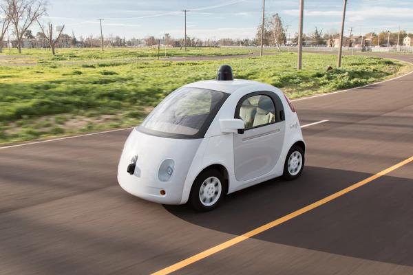 Googles nye selvkjørende bil skal på offentlig vei i sommer (Foto: Google)