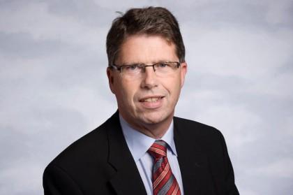 Styreleder Leif-Arne Langøy i  DNV GL bygger opp selskapet til å bli en global gigant  og tilsetter ny konsernsjef( Foto:Cision)
