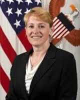 Katrin McFarland   fra detamerikanske  forsvaret her besøkt  Sverige for å  kjøpe mer sensk teknologi( Foto:US Gov).