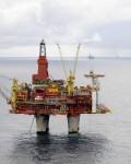 Statfjord C-feltet er lønnsomt igjen.  Oljeprisen er  over femti dollar per fat, og veksten i SA trekker oljeprisen  opp( Foto: Statoil/Harald Pettersen)