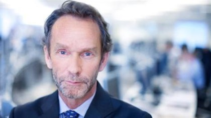 Harald -Magnus Andreassen i Swedbank sier at oljefondetsverdi vil svinge fremover ( foto: Swedbank)