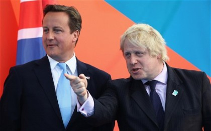 Boris Johnson and David Cameron wer fighting about EU in the british Parliament( Photo: Ap)