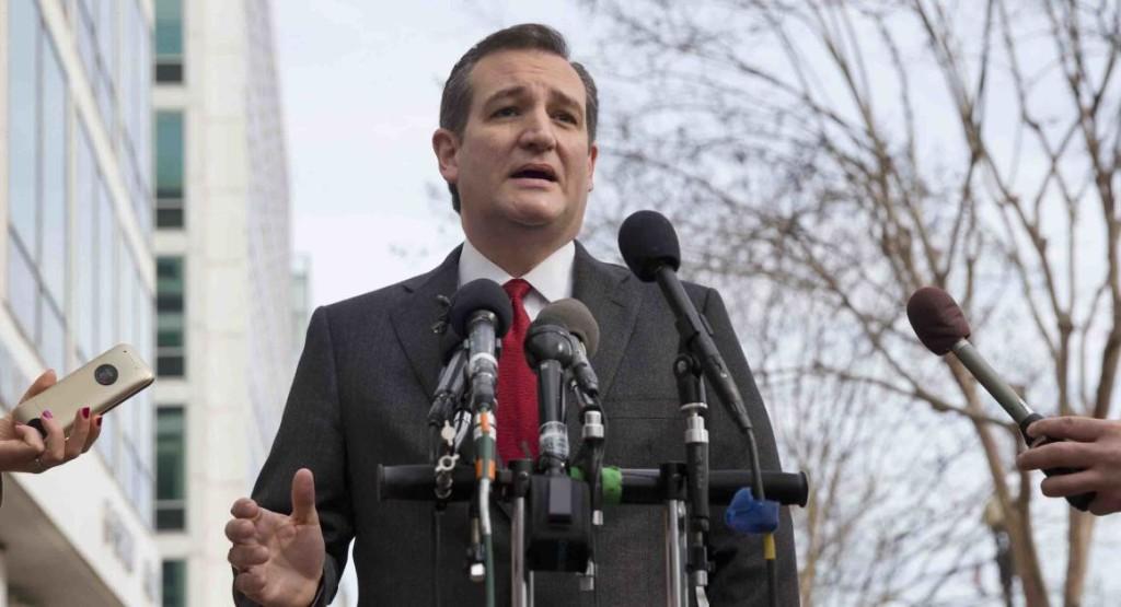 Ted Cruz fordømmer Brussel-angrepet og kritiserer Trumps utenrikspoltikk samtidig (Foto: AP)