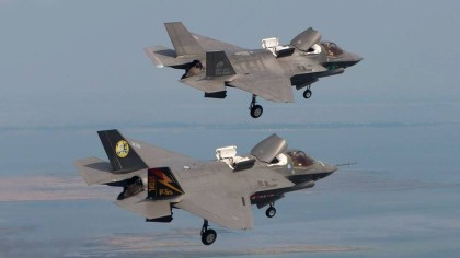 Det norske forsvaret satser på det amerikanske jagerflyet F-35( Foto: Lockheed Martin)
