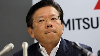 President Tetsuro Aikawa i Mitsubishi Motor Corporation beklager utslipssjuks i selskapet( Foto: