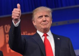 Donald Trump versus Hillary Clinton will be the race towards presidency( Photo: Wikiopedia)