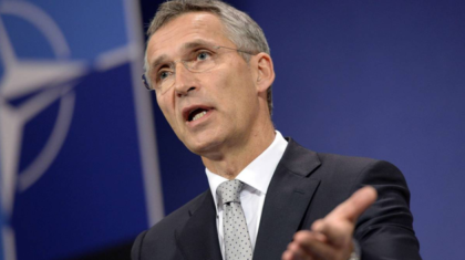 Secretary General Jens Stoltenberg was leading the NATO Russian asssembly in Brussels recently(Photo: Thierry Chalier)