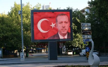 """President Recep Tayyip Erdogan vowed those responsible """"will pay a heavy price for their treason.""""(Photo:Ap)"""