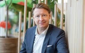 Konsernsjef Hans Westberg får sparken i E Ericsson( Foto: Cision/Telegraph)