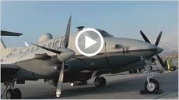 Bechcraft 350 er et ukonvensjonelt våpen som tas i bruk av amerikanske luftstyrker( Foto: USAF)