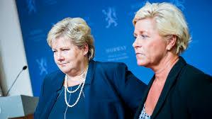 Erna Solberg og Siv Jensen legger ikke frem et grønt budsjett, skriver redaktør Harald Pettersen(Foto: Regjeringen)