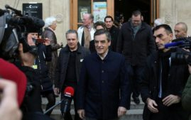 The republican partys candidate Fancosi Fillon in France isa favorite before the election(.(Photo: Republican Party)