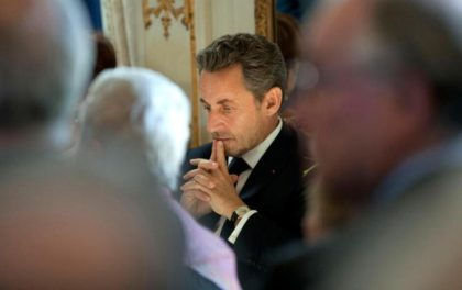 Former french president Nicolas Sarkozy is going for president in 2017. (Photo: Associated Press)