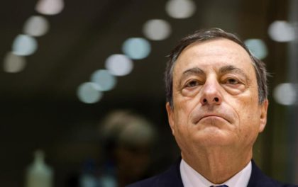 Mario Draghi is wooried about weak european banks according to Ap( Photo: Associated Press)