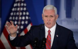 Vice President Mike Pence ere visiting Europe(Photo: Associated Press)
