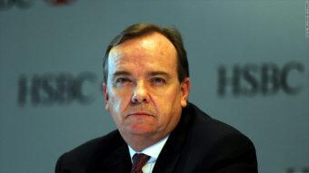 Stuart Gulliver har overtatt som CEO i den britiske storbanken HSBC. Oljefondeet har tjent 15 milliarder på ham på ett år( foto: HSBC)