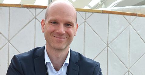 Senorøkonom Markus Tibblin i den svenske Riksbanken spår høykonjunktur i hele år(Foto: Riksbanken)