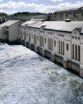 Vamma Kraftverk i Glomma8Norges lengste elv) er en del av Hafslunds vannkilder(Fotot: Mynewsdesk)