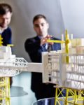 Johan Sverdrup-modell fotografert av Aker Solutions. Prosjektet går ikke lenger på sinner(Foto: Aker Solutions)