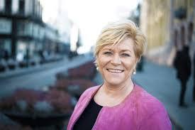 Finansminister Siv Jensen i Oslo forvalter de norske oljepengene(Foto: Stortinget)