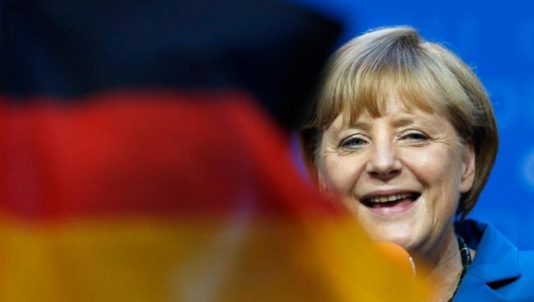 Angela Merkel is leading before the German election 2017. (Photo: Associated Press)