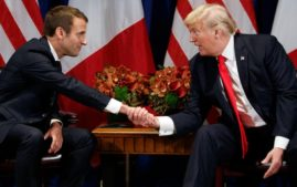 Donald Trump and Emmanuel Macron will cut costs in UN(Photo: Associated Press)