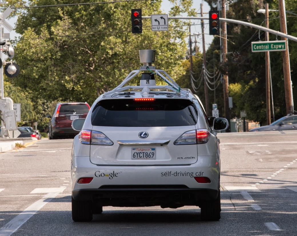 google self driving car. Autonomous cars. Auto pilot cars.