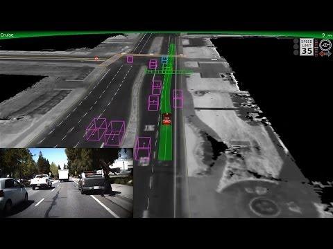 Googles selvkjørende bil klarer bykjøring