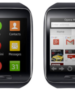Samsung  Gear S med Opera Mini (Foto: Opera Software)