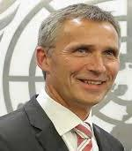 NATO`s nye generalsekretær Jens Stoltenberg fotografert utenfor FN-bygningen i New York(Foto:UN)