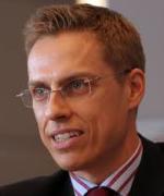 Statsminister Alexander Stubb  vil ha Finland inni NATO etter Russlands anektering av Krim.  Sverige er nølende til NATO-medlemsskap(Foto: Wikipedia)