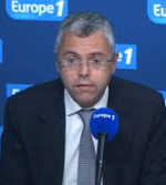 CEO and Chairman Michel Combes  in Alcatel laurent wins an important IT-contract in Scandinavia(Photo Europe 1)