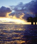 Førti år siden Norge fant olje på Ekofisk i Nordsjøen. Bildet er tatt av Statoil på Brent-feltet(Foto: Harald Pettersen)