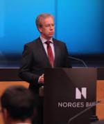 Sentralbanksjef Øystein Olsen kutter trolig renten med 0,25 prosent på første rentemøte neste år(Foto:Flickr)