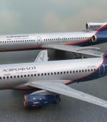 Aeroflot buys thrity new Sukhoi 100 Superjet from russian Italian Sukhoi holding.  The state of Russia is not bankrupcy yet. ( Photo: Aeroflot)