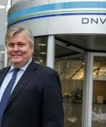 Konsernsjef Henrik O. Madsen i DNV GL er en av initiativtagerne til en større global undersøkelse som viser at kineserne tror på vekst( Foto: DNV GL)